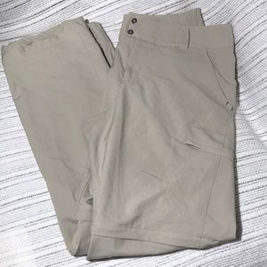Columbia Titanium Hiking Pants Shorts